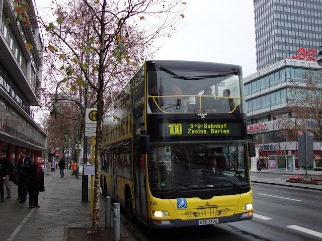 Ônibus 100 em Berlim