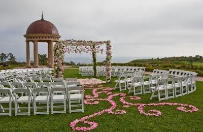 Ideia diferente de decoração de casamento