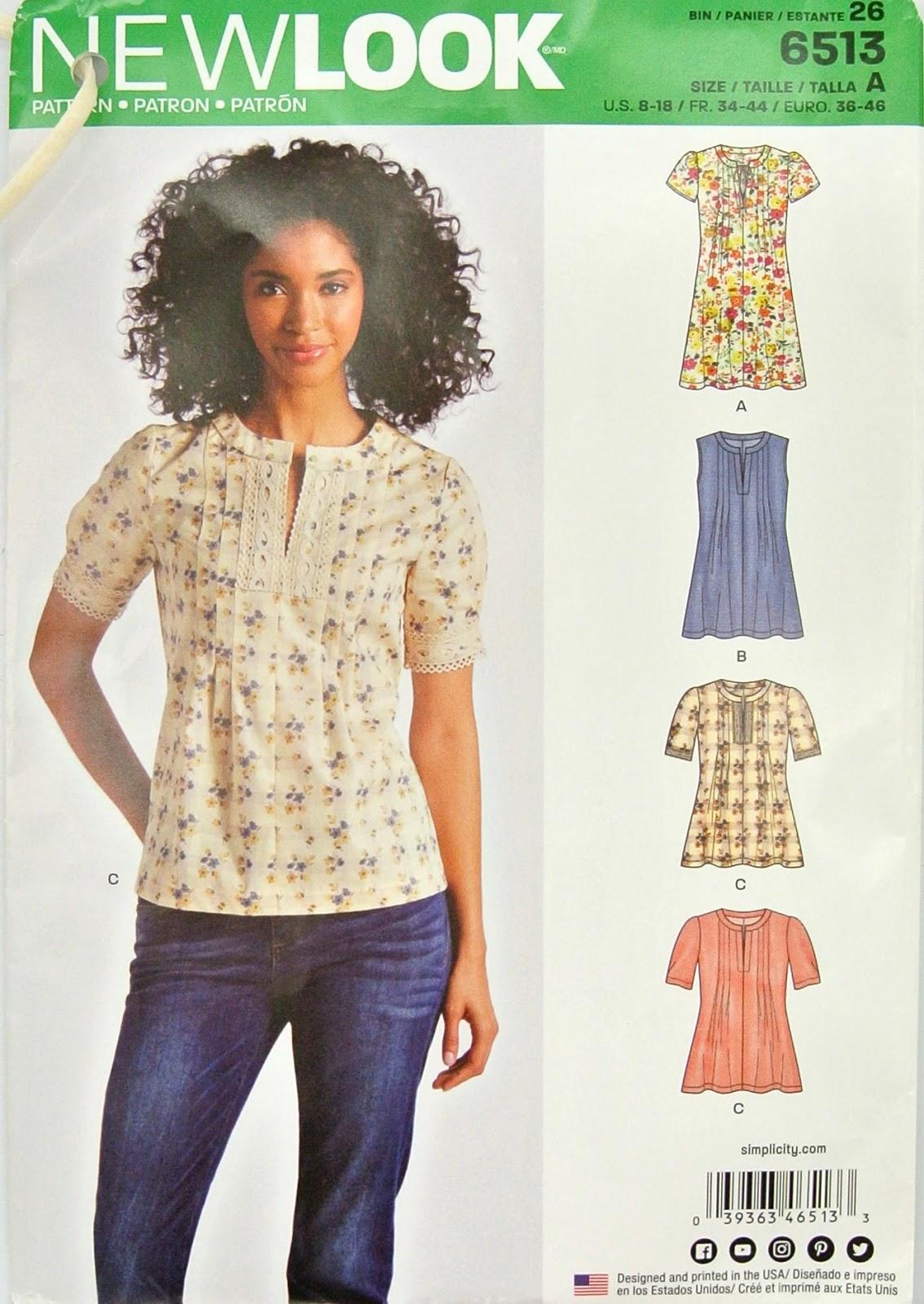 Treadle Yard Goods: Classes In Depth: Simple Summer Blouses