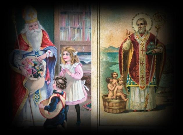 Storia Di San Nicola E Babbo Natale.L Antro Celtico San Nicola E La Leggenda Di Babbo Natale