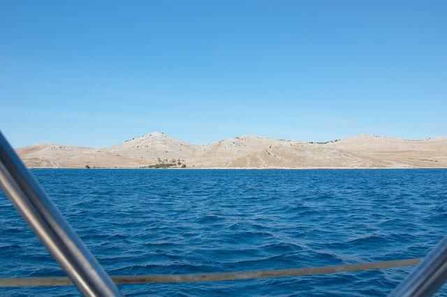 Park Narodowy Kornati-delfiny-Chorwacja