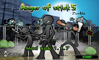 Anger of Stick 5 Zombie 1.1.7 Mod Apk Unlimited Money & Gems