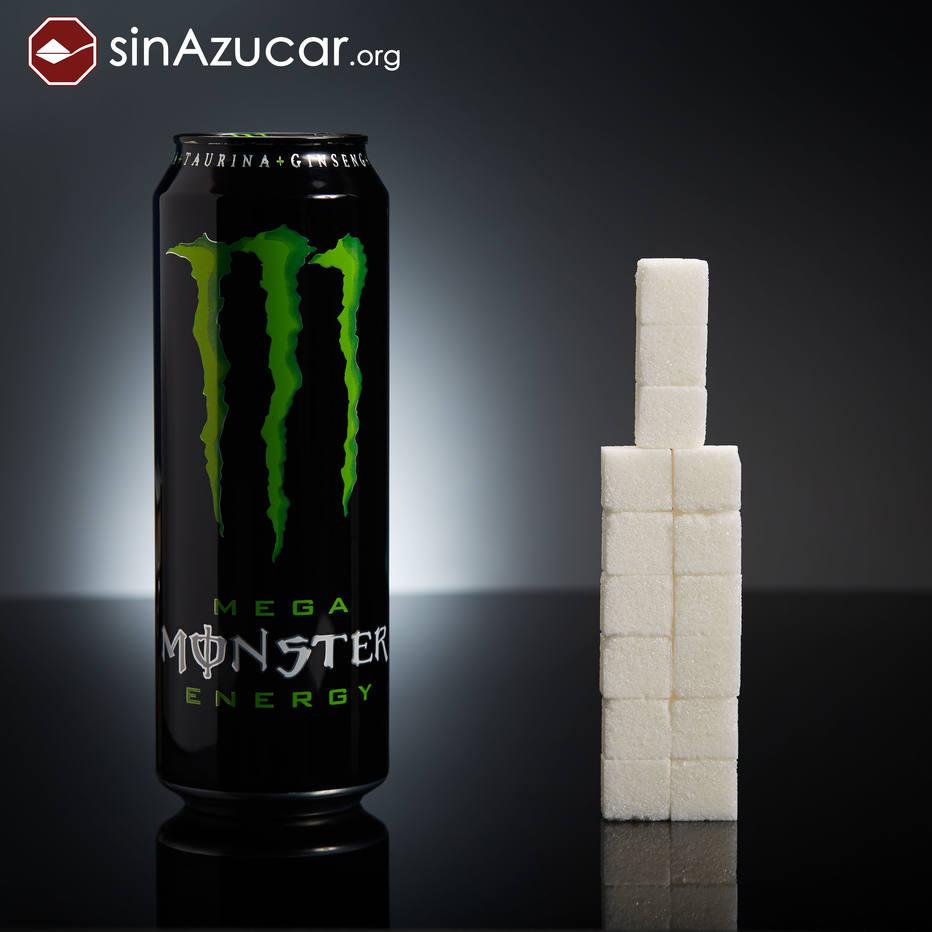 quanto acucar tem energetico monster - Fotos incríveis da quantidade de açúcar presente nos alimentos