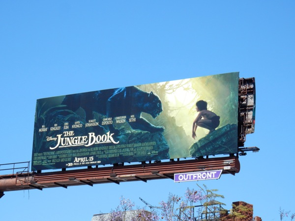 Jungle Book Bagheera panther billboard