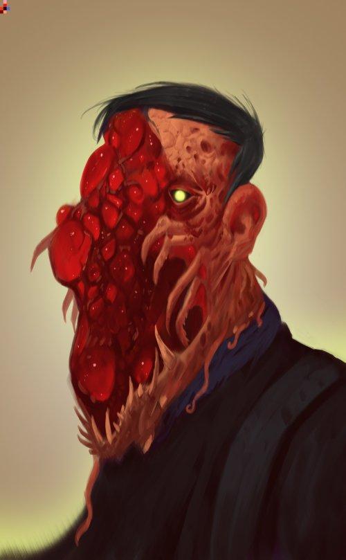 Vladimir Matyukhin freetime FT artstation arte ilustrações fantasia games sombrio
