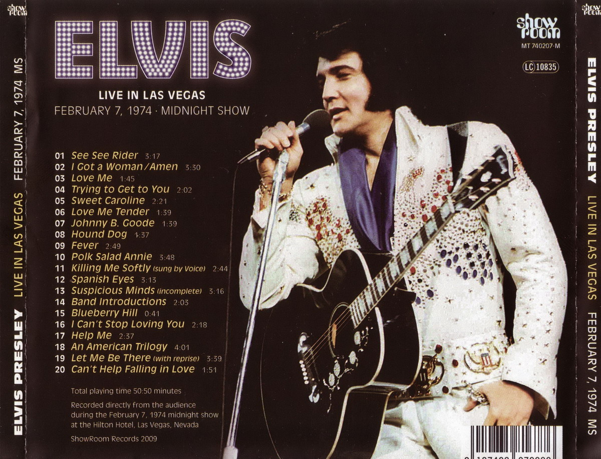 Elvis Live In Las Vegas