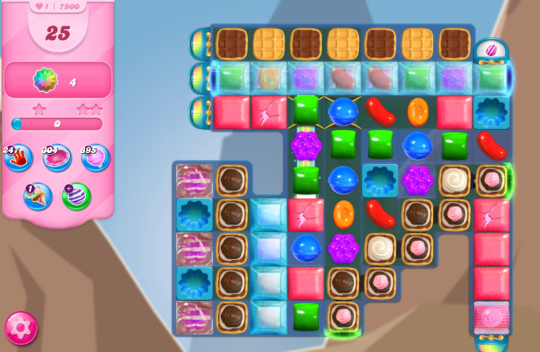 Candy Crush Saga level 7900