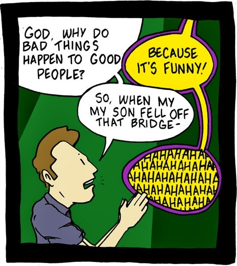 Funny Why God Allows Suffering Joke Picture