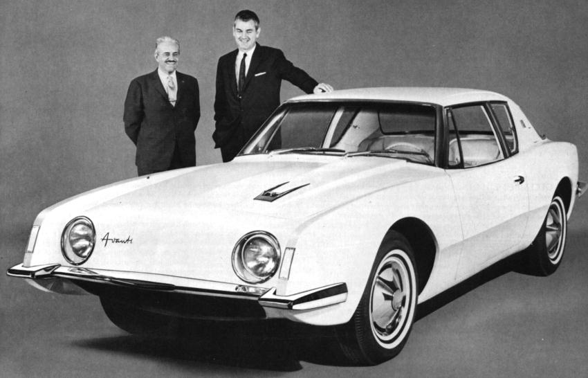 The  60s at 50  March  1961  The Studebaker Avanti March  1961  The Studebaker Avanti