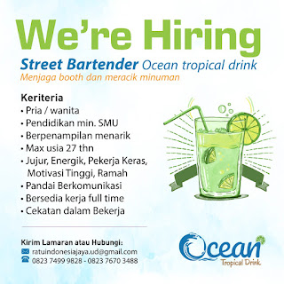 Ratu Indonesia Jaya, OCEAN TROPICAL DRINK