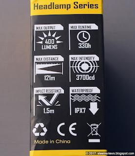Nitecore NU30 packaging
