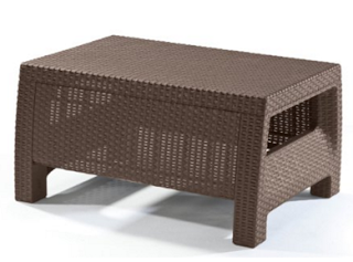 Keter Corfu Brown Coffee Table