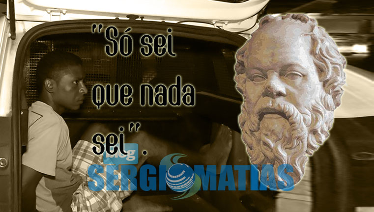 """So Sei Que Nada Sei Frase De Socrates: Blog Do Kabanno: """"SÓ SEI QUE NADA SEI"""": Suspeito De"""