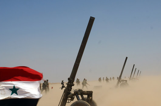 Photo Report: The Syrian Arab Army