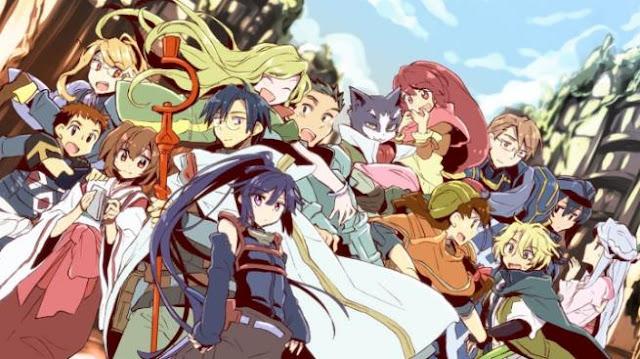 Log Horizon - Anime Action Fantasy Terbaik dan Terseru