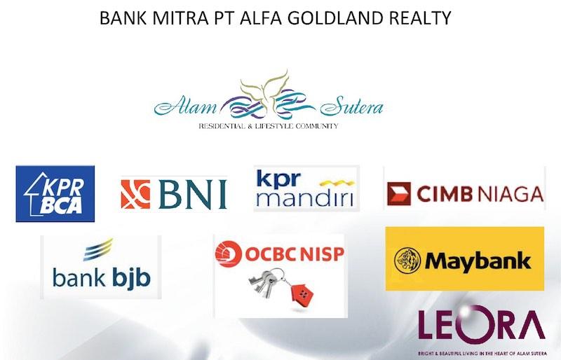 Bank Kerjasama KPR Cluster Leora Alam Sutera