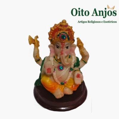 Imagem Ganesha * Oito Anjos Artigos Religiosos e Loja Esotérica