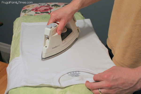 make t-shirt iron on