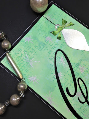 Sara Emily Barker http://sarascloset1.blogspot.com/ Retro Christmas Card Christmas Joy 2