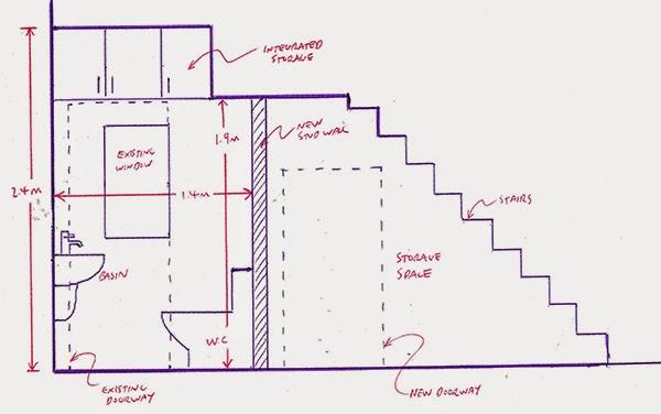 kamar mandi dibawah tangga nyaman dan tidak sempit rumah minimalis sederhana. Black Bedroom Furniture Sets. Home Design Ideas