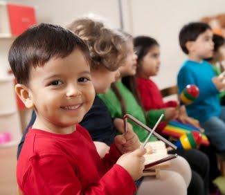 NAMC montessori preschool musical training activities children with instruments