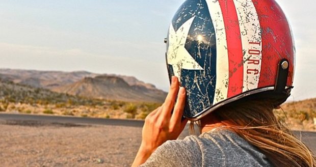 Rebel Star Harley Motorcycle Helmet