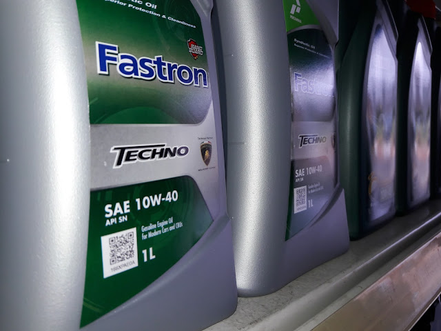 Harga dan spesifikasi oli Fastron Techno 10w40 terbaru
