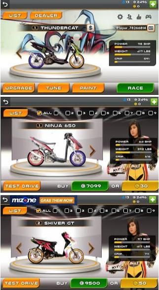 Drag Racing Bike Edition MOD Indonesia