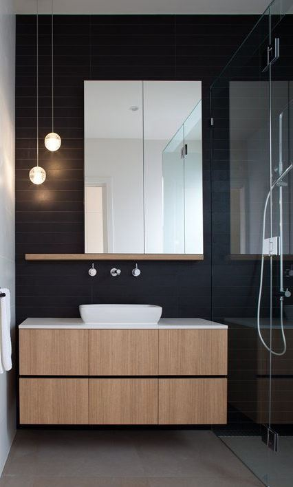 25 Creative Modern Bathroom Lights Ideas You'll Love