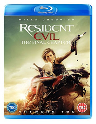 Resident Evil The Final Chapter 2017 Eng 720p BRRip 800mb ESub