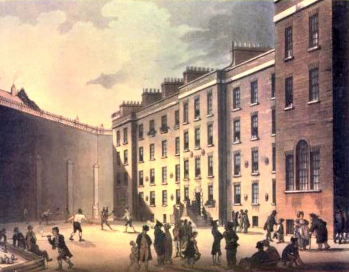 The Fleet Prison, from The Microcosm of London (1808-10)