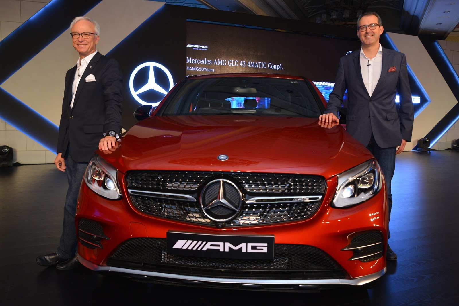Tricitynewsonline mercedes benz india commemorates 50 for Mercedes benz of tri cities