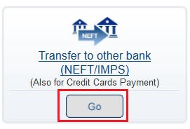 Select IMPS Transaction Type