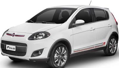 2017 model Fiat hatchback