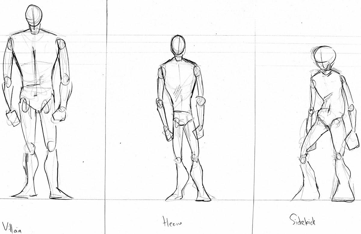Samantha Niemczyk: Character Design: Body Shapes