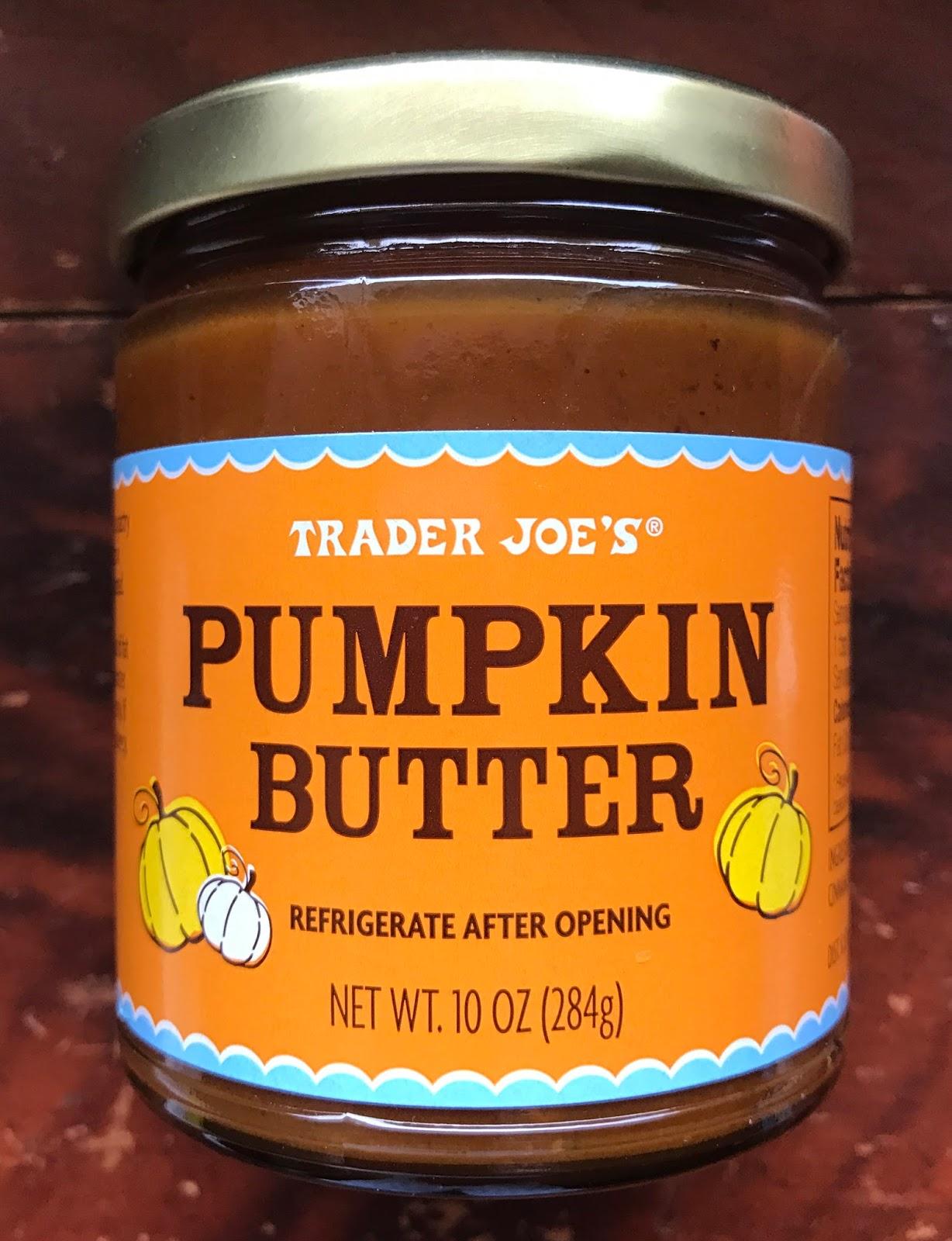 ... Pumpkin Butter, which contains pumpkin, sugar, honey, lemon juice