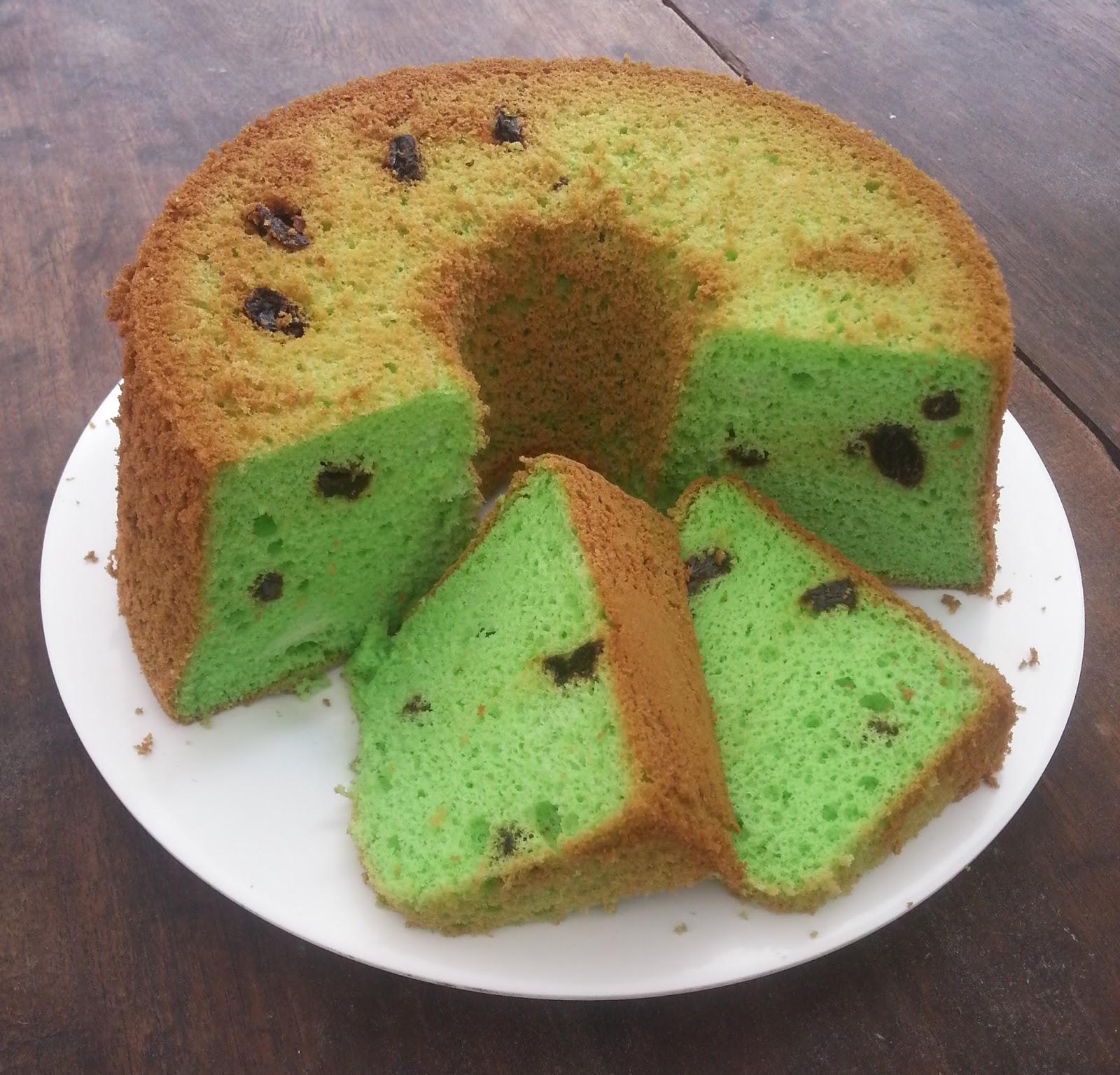Sifon Cake Pandan