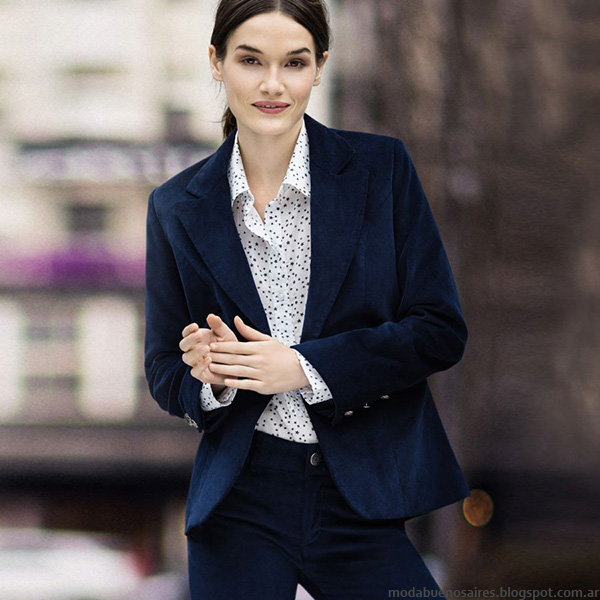 Moda otoño invierno 2016 Yagmour. Blazers de moda invierno 2016.