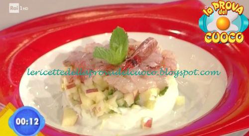 Tartare di gamberi ricetta Giunta da Prova del Cuoco