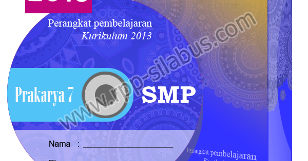 Jual Rpp Prakarya Smp Kelas Vii Kurikulum 2013 Edisi