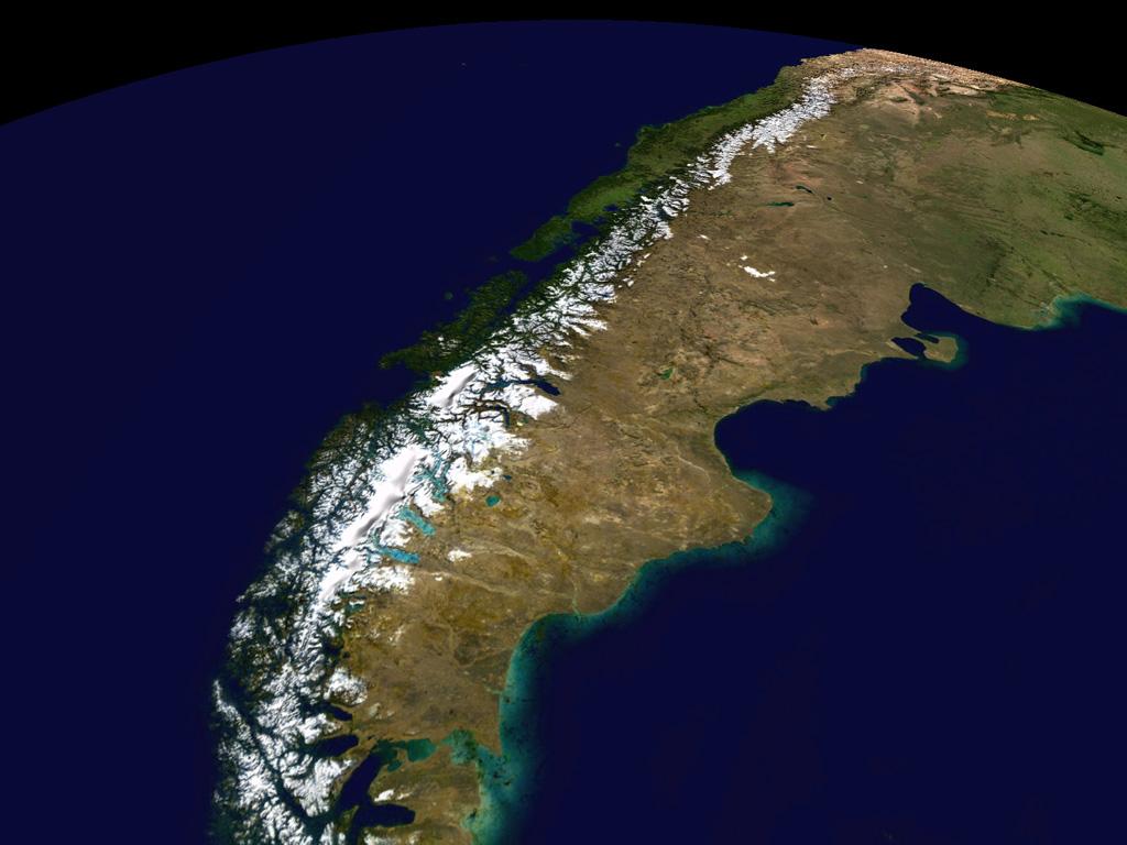 #Andes, Geografia da Cordilheira dos Andes
