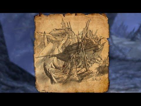 coldharbour ce treasure map - Coldharbour CE Treasure Map Item Esohead Elder Scrolls Online