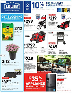 ⭐ Lowes Ad 4/24/19 or 4/25/19 ✅ Lowe's Weekly Ad April 24 2019