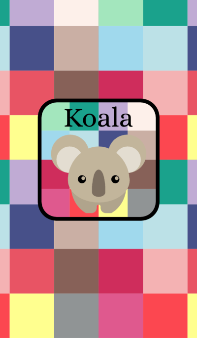 Cute Koala -W-