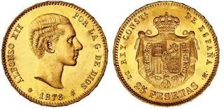 ¿Cada vez quedan menos monedas Alfonsinas? ¿Se revalorizaran? Monedaalfosinadeoro