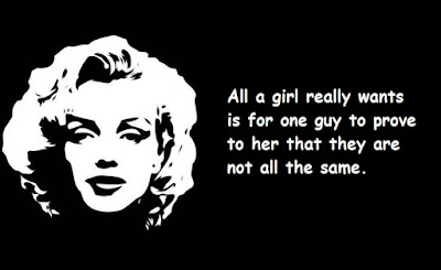 """Marilyn Monroe Quotes About a Girl"""