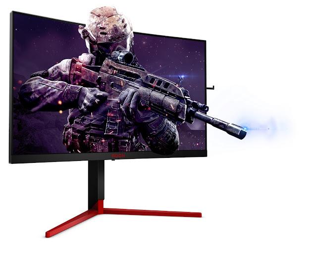 Ecrãs curvos super-rápidos e premiados AGON 3 chegam às lojas