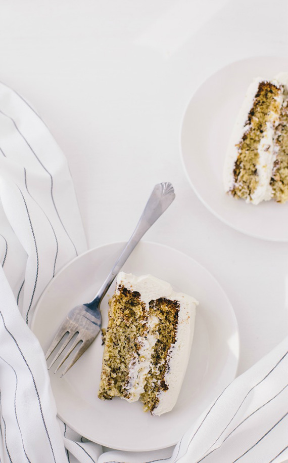 Banana layer cake recipe by The Vanilla Bean Blog