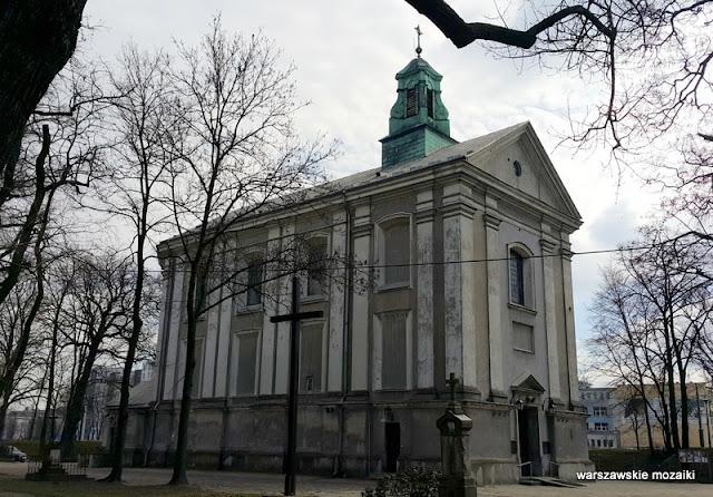 Warszawa Warsaw Wola Wolska Redutowa kościoły