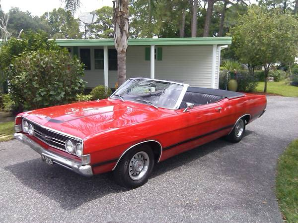 rare 1968 ford torino gt convertible buy american muscle car. Black Bedroom Furniture Sets. Home Design Ideas